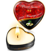 Массажная аромосвеча Massage Candle Heart Exotic Fruits, 35мл, 28467